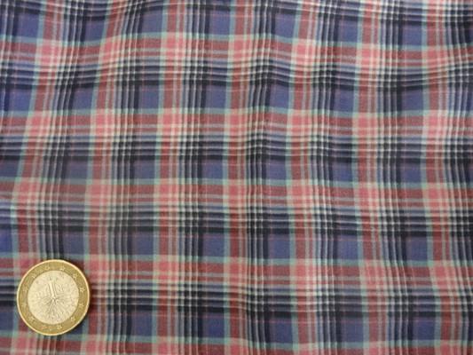 Voile coton écolier bleuet 2