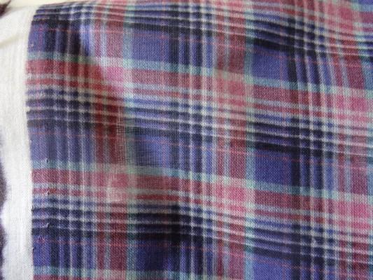 Voile coton écolier bleuet 3