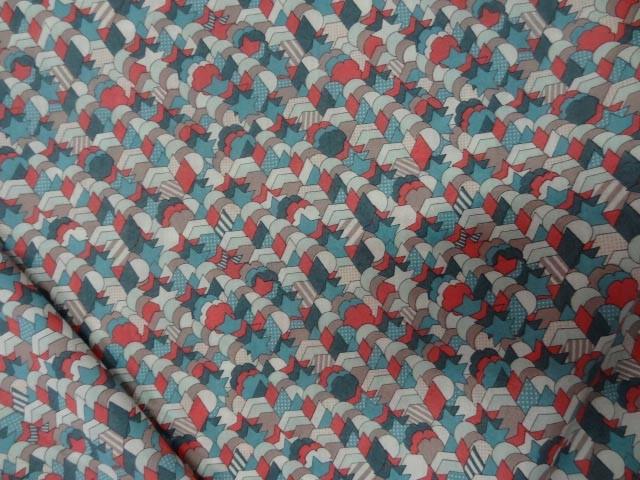 Voile de coton imprime etoiles bd 1