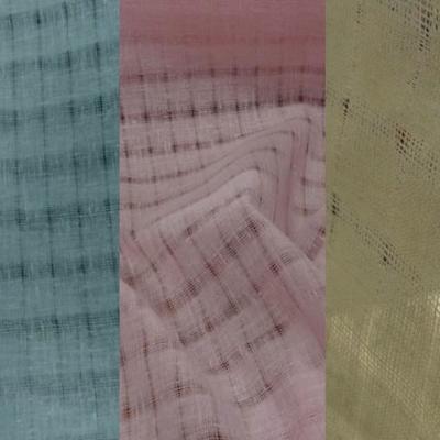 Voile de lin coloris disponibles