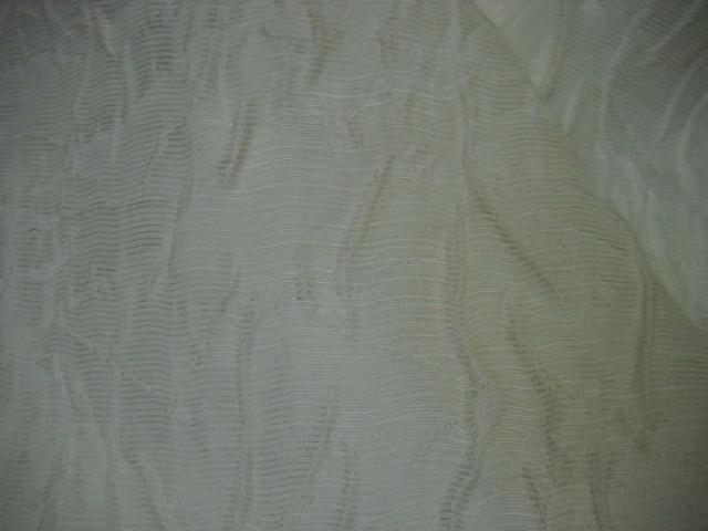 Voile de soie ecru chantilly froisse 2