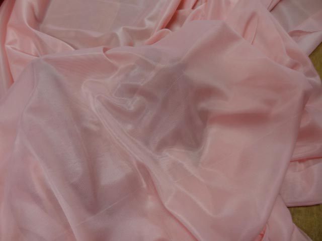 Voile jersey rose dragee