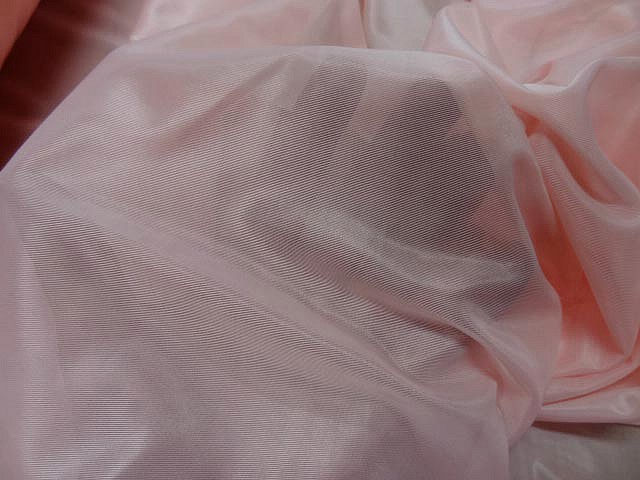Voile jersey rose dragee 3