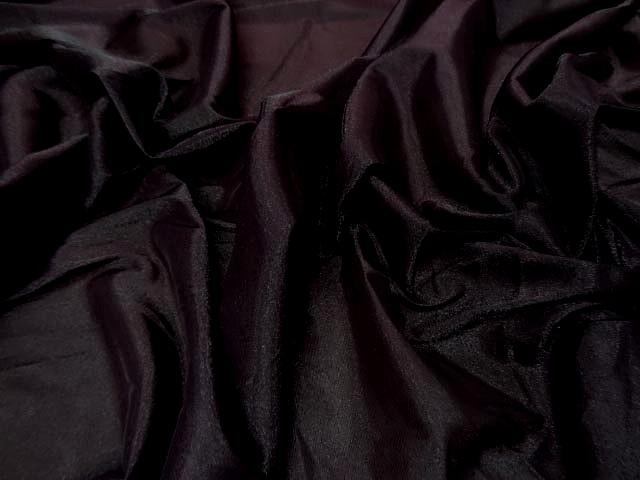 Voile polyester aubergine brillant 3