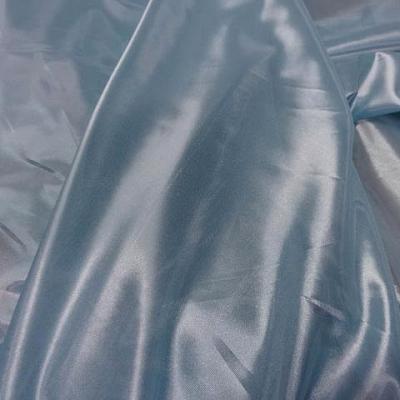 Voile polyester bleu brillant 2