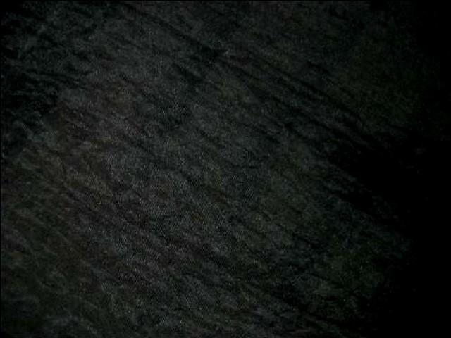 Voile polyester satine noir 3